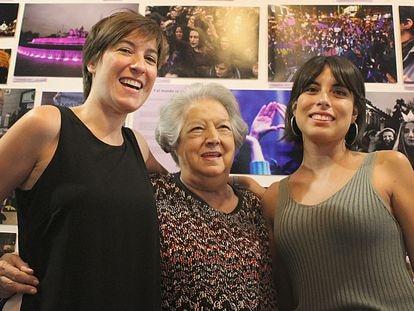 Virginia Yagüe, Ana María Pérez del Campo y Sandra Blázquez en La Mala Mujer (Madrid).