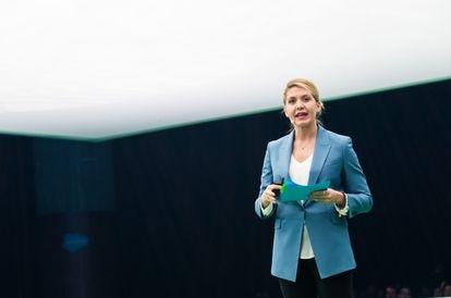 Laura Guzmán, Vicepresidenta del Área de Cloud Sales en Salesforce Iberia.