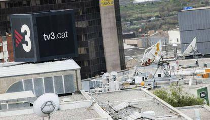 TV3 en Sant Joan Despí.