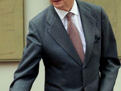 Pedro Morenés, este miércoles.