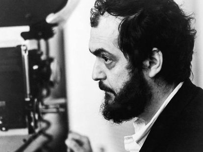 Kubrick detrás de la cámara.