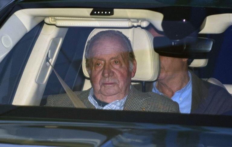 Juan Carlos I, en enero pasado.