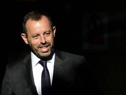 Sandro Rosell, en julio de 2014.