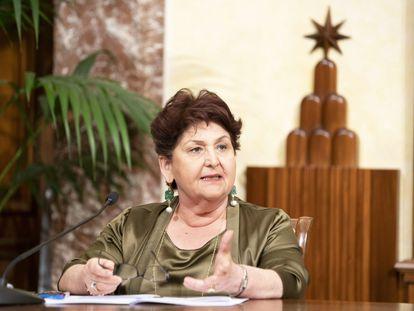 La ministra de Agricultura italiana, Teresa Bellanova.