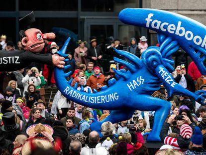 Carnaval en Düsseldorf, Alemania, el 24 de febrero de 2020.