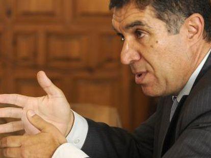 Lorenzo del Río, presidente del TSJA.