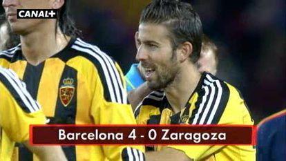 F.C. Barcelona 4 - Zaragoza 0