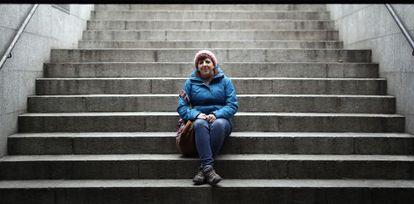 Almudena de la Cuesta, de 25 años, aún no ha conseguido incorporarse al mercado laboral.