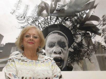 Cristina García Rodero, en la inauguración del museo que lleva su nombre en Puertollano.