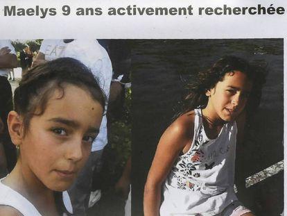 Cartel de búsqueda de Maëlys.