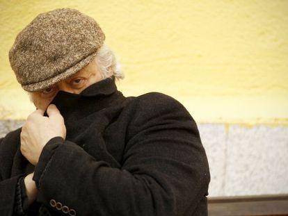 Mario Gas, actor y director de teatro, en el Teatro de la Abadia.