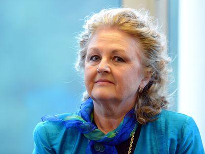 La soprano Edita Gruberova, en Baden-Baden,Alemania, en 2013.