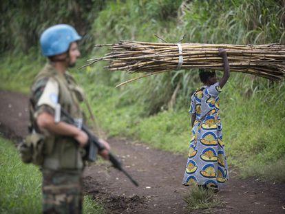Soldado de la MONUSCO en el este de la RDC / UN/Sylvain Liechti