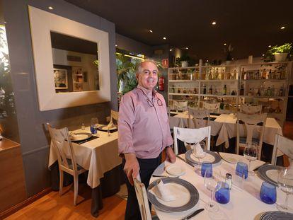 Florentino Pérez del Barsa, nombre comercial del propietario del restaurante El Aliño, y gran seguidor del Barça.