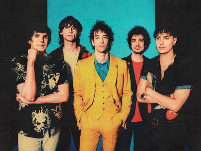 Los integrantes de The Strokes, en una imagen promocional de 'The New Abnormal'.