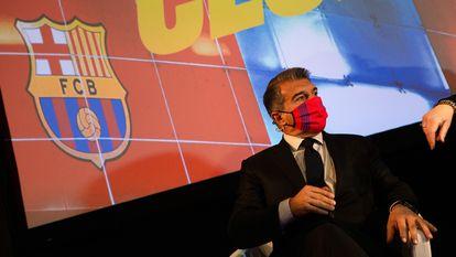 Laporta presentó su organigrama para la presidencia del Barça.