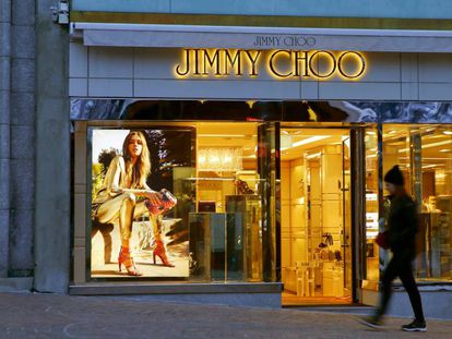 Una de las tiendas de Jimmy Choo, en Suiza.