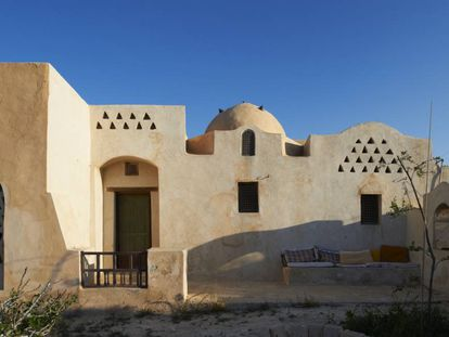 Cúpulas de la casa Fathy en Sidi Krier, 1971.