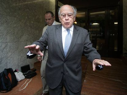 El expresidente catalán, Jordi Pujol.