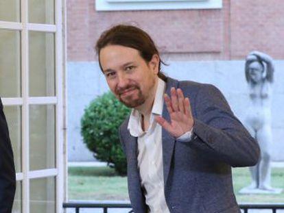 El líder de Unidos Podemos se muestra  moderadamente optimista  con el acuerdo alcanzado con el Gobierno en una entrevista con EL PAÍS