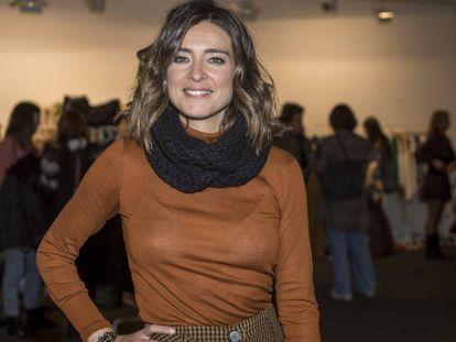 La periodista y presentadora Sandra Barneda, durante un evento, en Madrid a finales el 30 de noviembre.