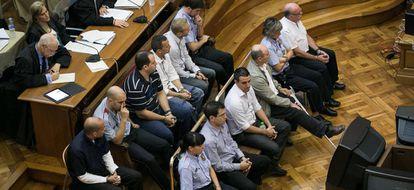 Juicio con jurado popular en la Audiencia Provincial de Barcelona.