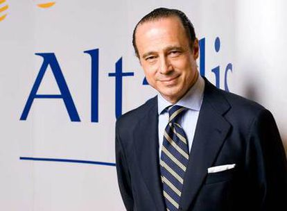 Antonio Vázquez Romero, presidente de Altadis.