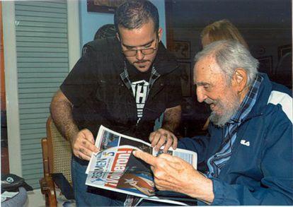 Fidel Castro, en una de las fotografías difundidas por 'Granma'.