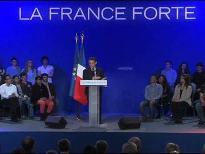 Sarkozy vuelve a la carga con España