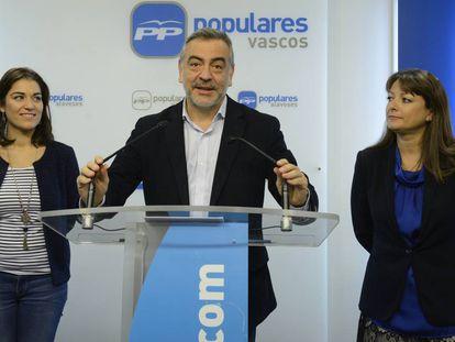 Javier de Andrés, nuevo delegado del Gobierno en Euskadi, en una imagen de archivo.