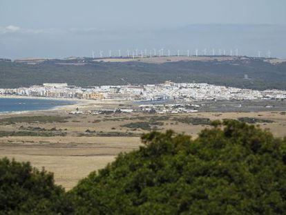 Vista de la localidad gaditana de Barbate.