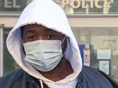 """""""Michel"""", el productor musical víctima de una paliza policial este sábado en París."""