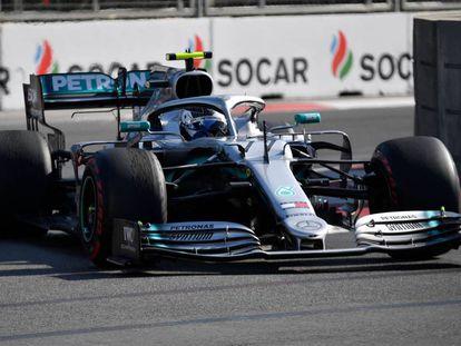 Valtteri Bottas, Mercedes, durante la carrera.