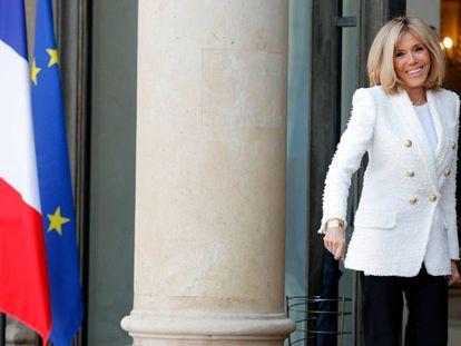 La primera dama francesa, Brigitte Macron