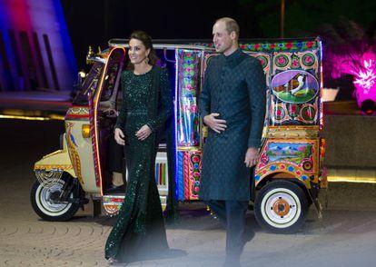 Guillermo y Kate llegaron, durante su viaje a Pakistán en 2019.