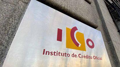Fachada del Instituto de Crédito Oficial (ICO)