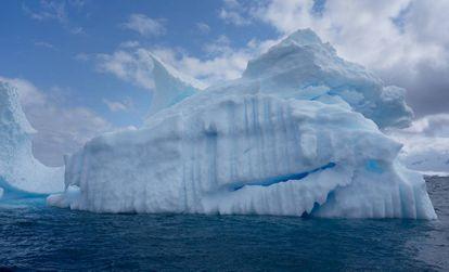 Un iceberg en la Antártida.