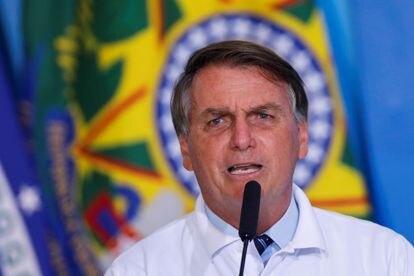 El presidente de Brasil, Jair Bolsonaro, el pasado 12 de enero.