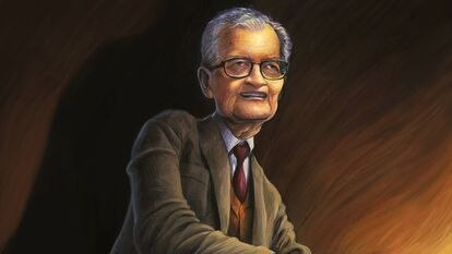 Amartya Sen, el niño bengalí que vio el hambre de cerca y acabó humanizando la economía