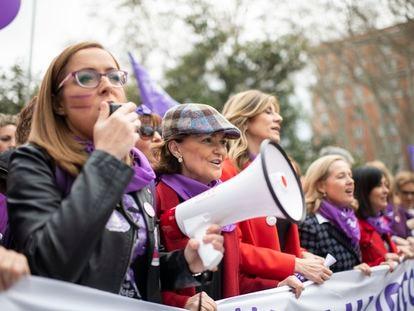 Manifestación feminista 8 de marzo.   Foto: Inma Flores