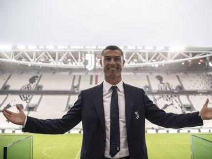 Cristiano, el 16 de julio en Turín.