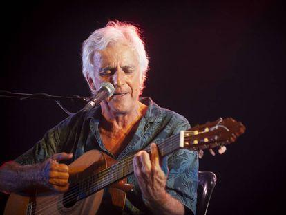 Concierto de Kiko Veneno el pasado agosto, en el Parc del Forum, Barcelona.
