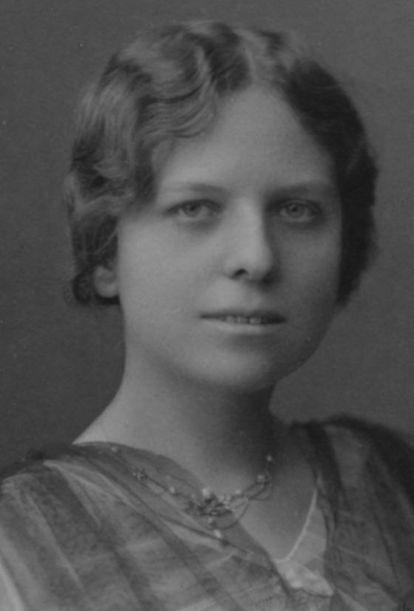 Zenobia Camprubí, hacia 1905.