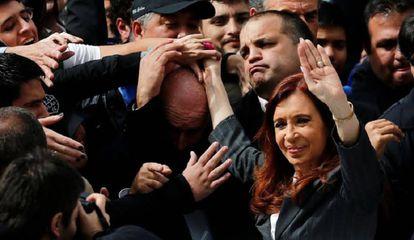 La expresidenta argentina Cristina Fernández de Kirchner.