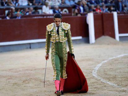 Alejandro Talavante, el pasado día 5, en la plaza de Las Ventas.