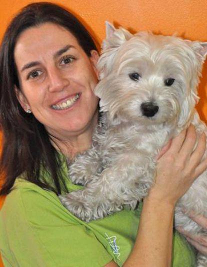 Sofía Cumella, directora del Centro Veterinario Puerta de Toledo.
