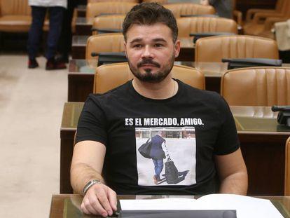 El presunto ataque homófobo de Espada iba dirigido a Gabriel Rufián (ERC).