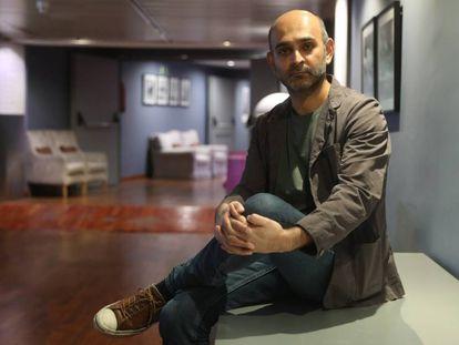Mohsin Hamid, en Madrid.