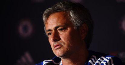 Jose Mourinho durante una rueda de prensa.