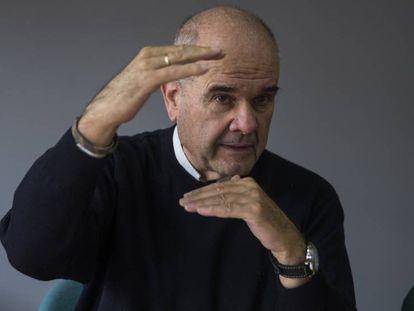 El expresidente de la Junta de Andalucía Manuel Chaves. En el vídeo, la entrevista con el político.